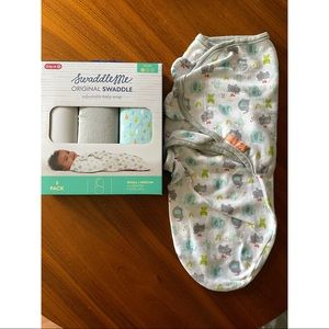Newborn baby swaddles (assorted brands)